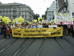 Demo Juli 2003 in Zürich